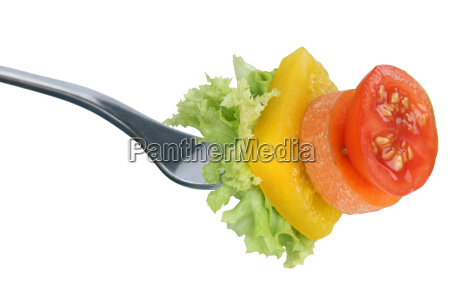 healthy diet vegetarian or vegan salad