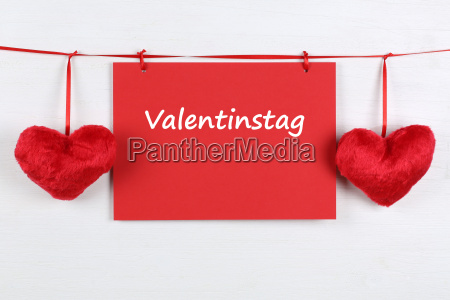 card for valentine with copy space