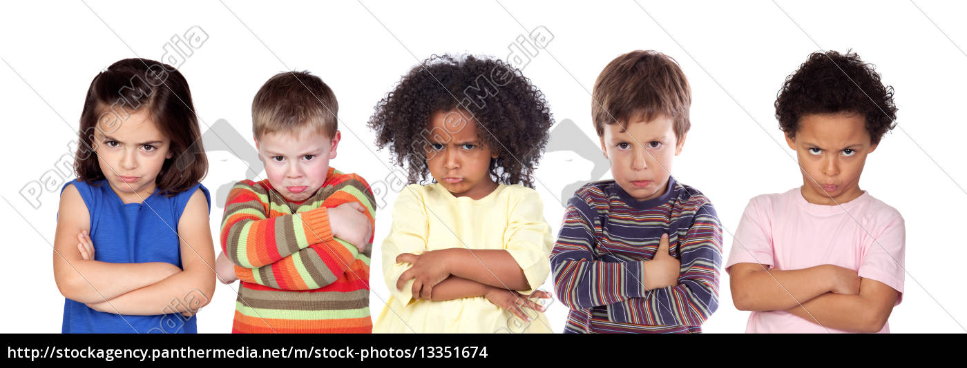five, angry, children - 13351674