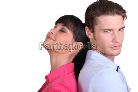 man feeling resentful towards his wife