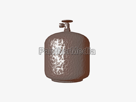 compressed gas bottle
