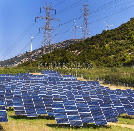 renewable green energy into electricity