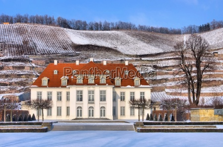 radebeul palace wackerbarth winter radebeul