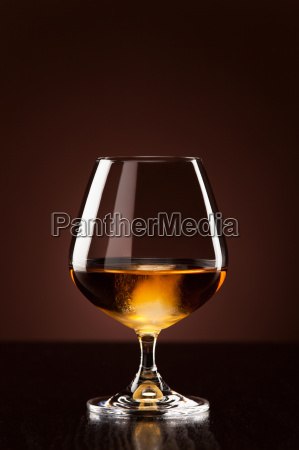 alcohol with ice cubeins in the