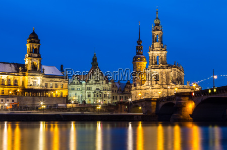 catholic court church cathedral dresden
