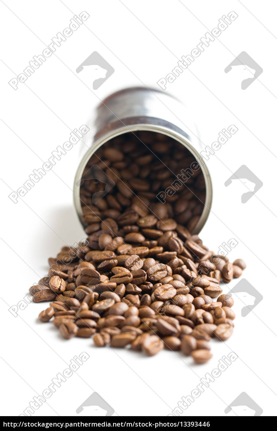 coffee, beans, in, tin, can - 13393446