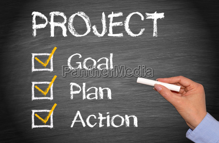 projekt ziel aktionsplan