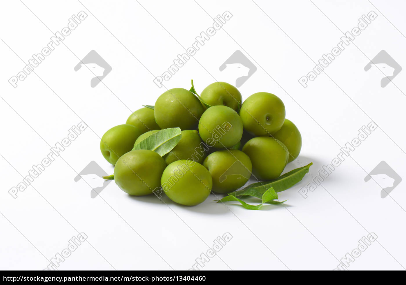 fresh, green, olives - 13404460