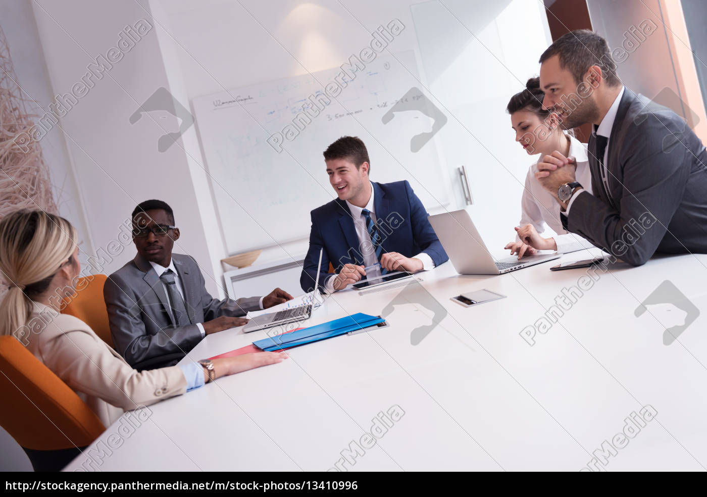 business, people, group, at, office - 13410996
