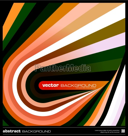abstract orange geometric background vector
