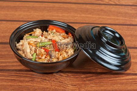 rice, chicken, vegetable - 13414504