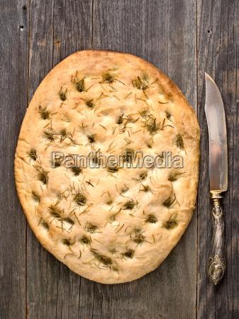 rustic, italian, rosemary, herb, foccacia, bread - 13417154