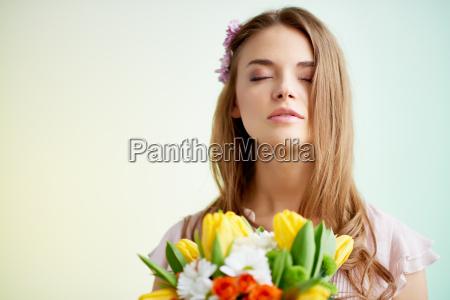 pleasant scent