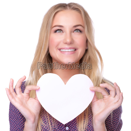 happy lovely woman
