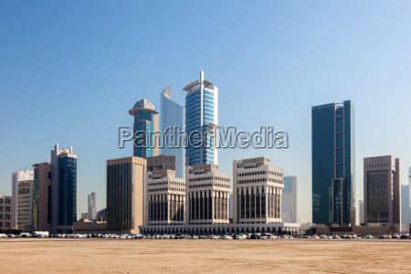 high rise buildings in kuwait city