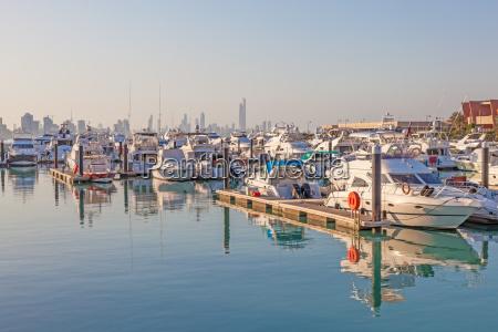 yachts and boats at the sharq