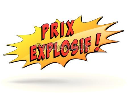 explosive price star icon