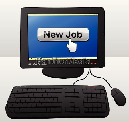 new job computer