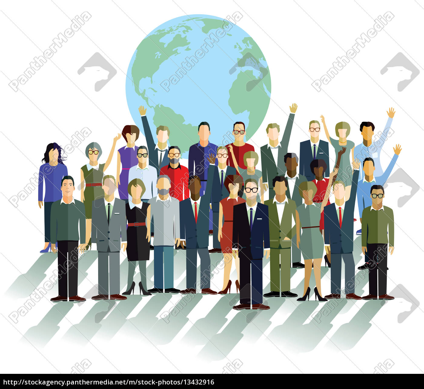 group, of, people, in, front, of - 13432916