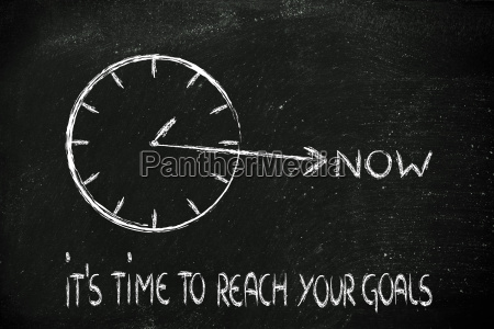 reach your goals now