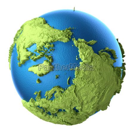 3d globe