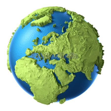 3d, globe - 13441706