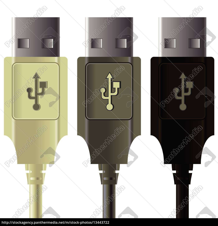 , usb, cables, - 13443722