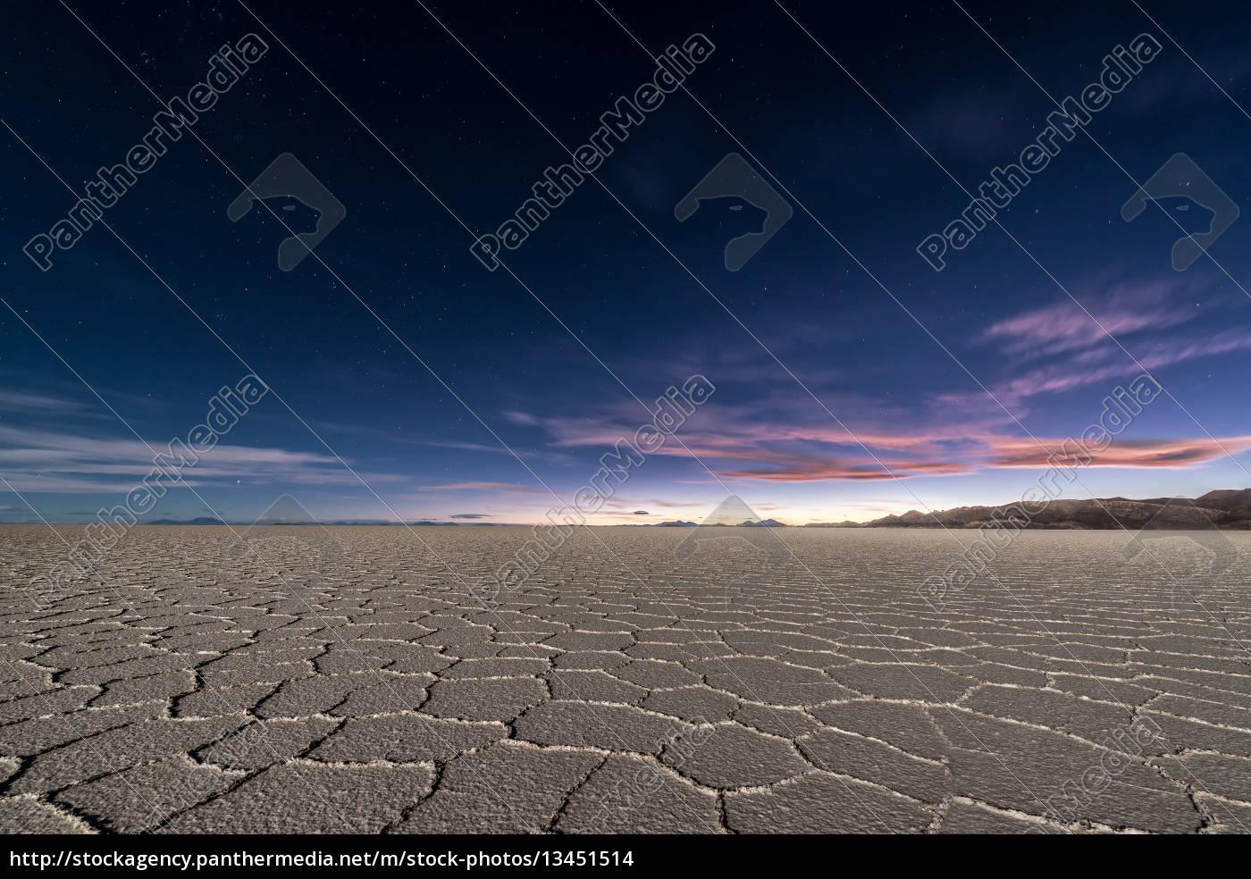 uyuni, salt, flats, at, night - 13451514