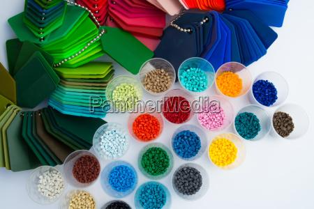plastic polymer granules resin
