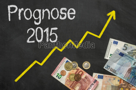 chart with money forecast 2015