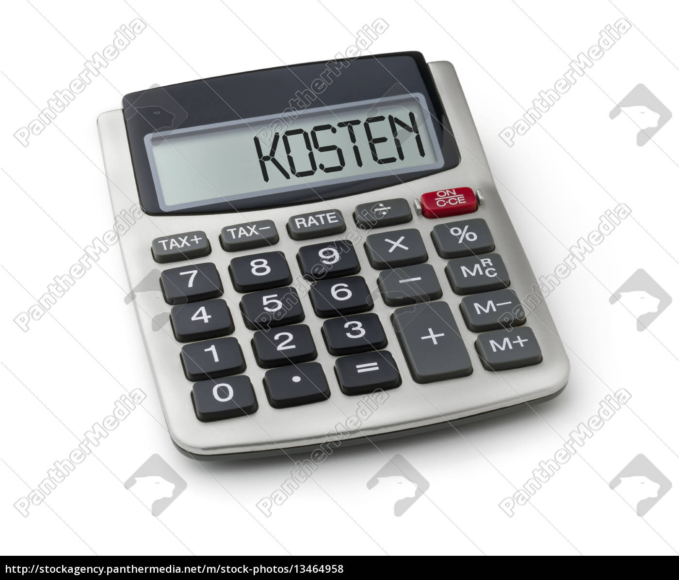 calculator, with, the, word, cost, in - 13464958