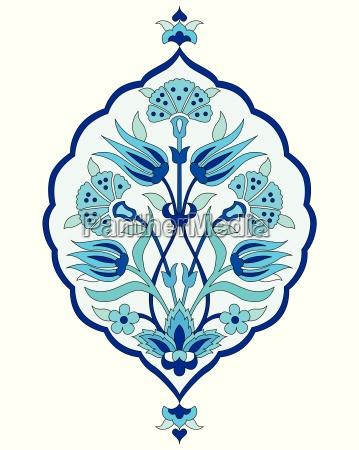 artistic ottoman seamless pattern series sixty