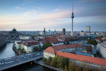 berlin, mitte, evening - 13476302