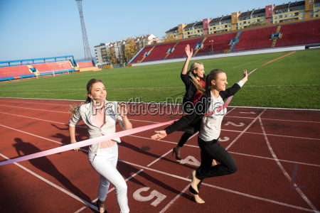 business, people, running, on, racing, track - 13481492
