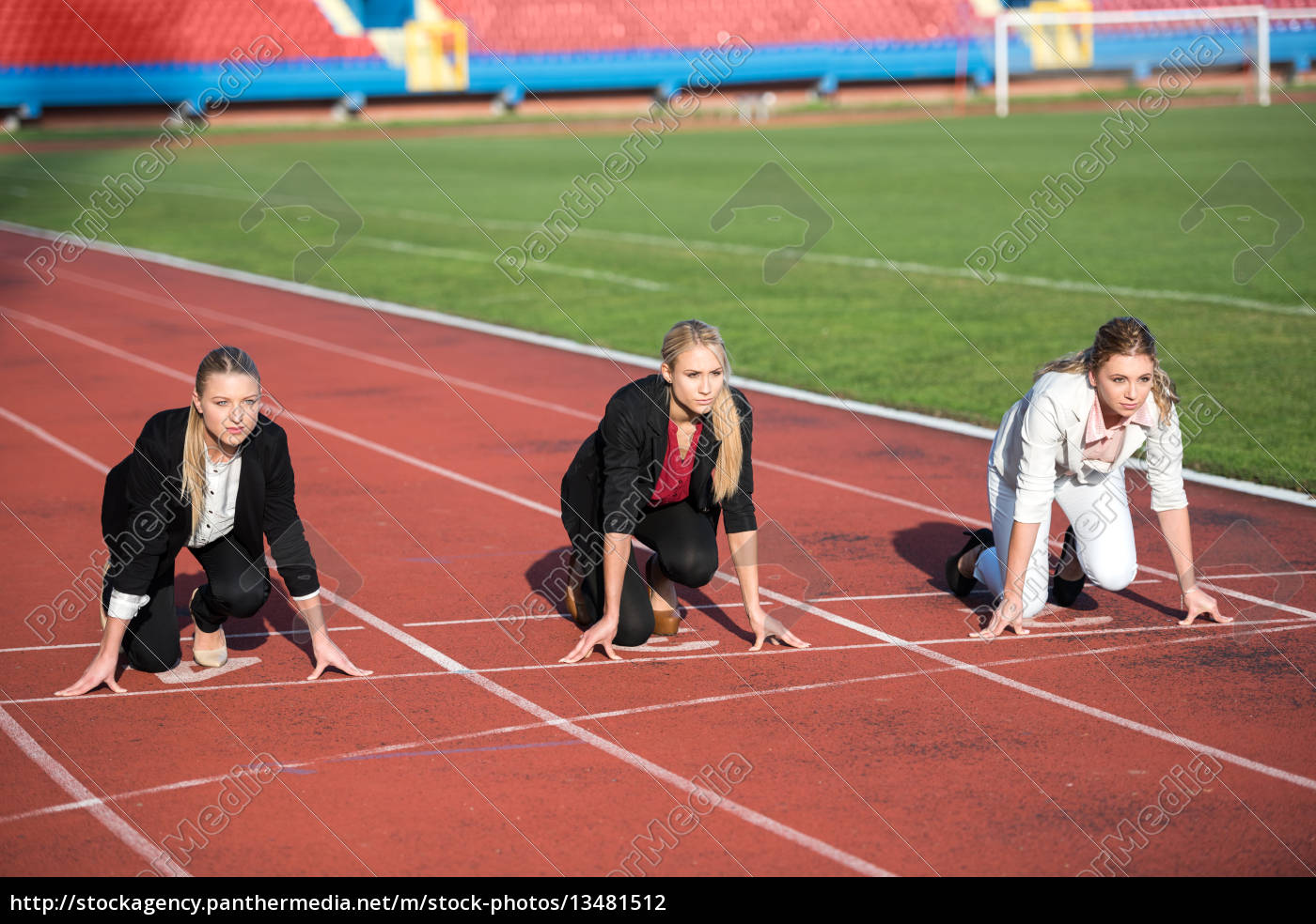 business, people, running, on, racing, track - 13481512