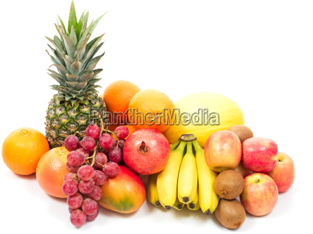 fruits and tropical fruits