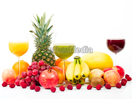 fruits and southern fruits with fruit
