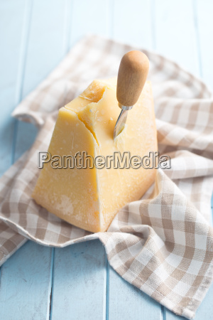 parmesan, cheese, on, kitchen, table - 13494136