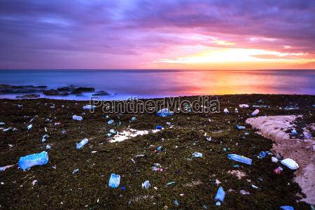 earth pollution concept