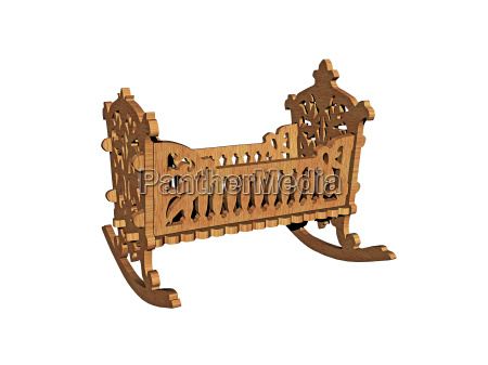carved cot wooden