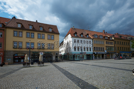 cityscape schweinfurt lower franconia germany
