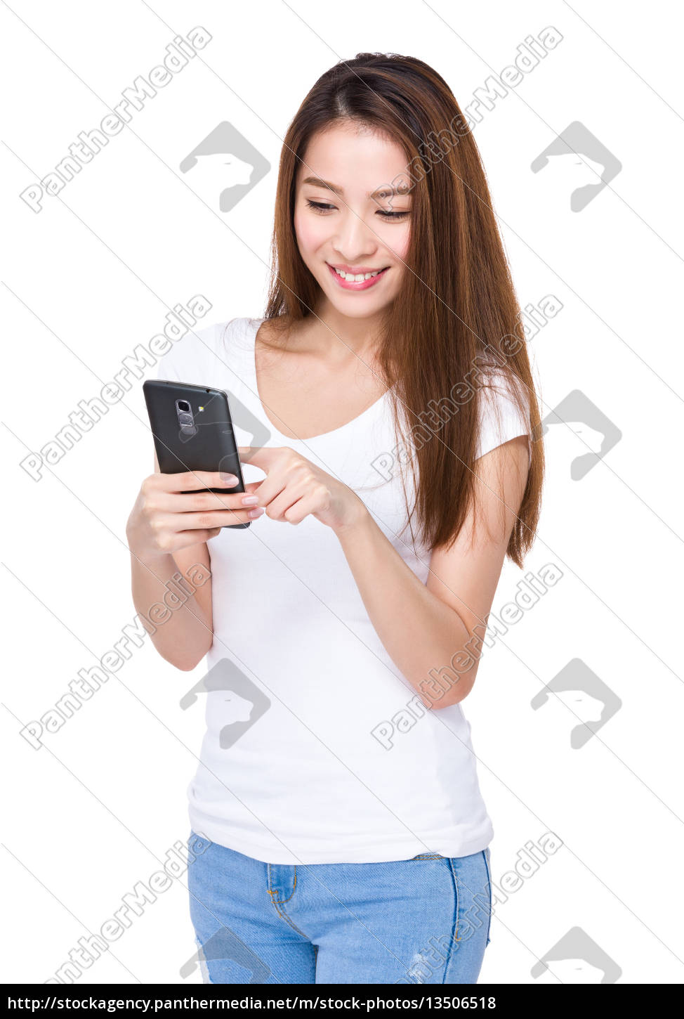 woman, use, of, mobile, phone - 13506518