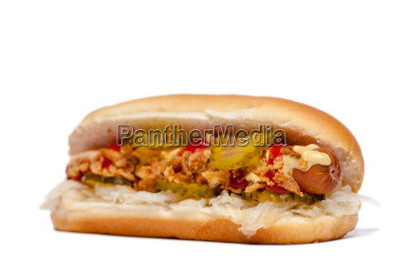 hotdog hot dog in front
