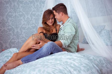 beautyful couple in romantic mood on
