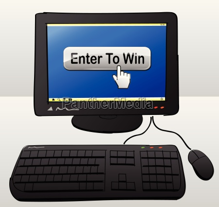 win computer concept