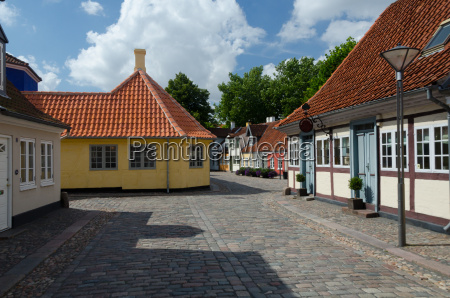 old, town, denmark, odense - 13520140