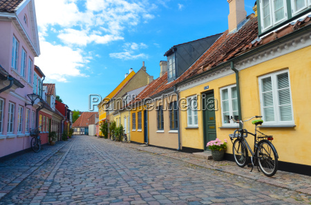 old, town, denmark, odense - 13520142