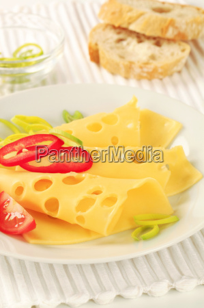 thin-sliced, swiss, cheese - 13522424