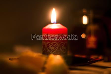 leuchtene christmas candle