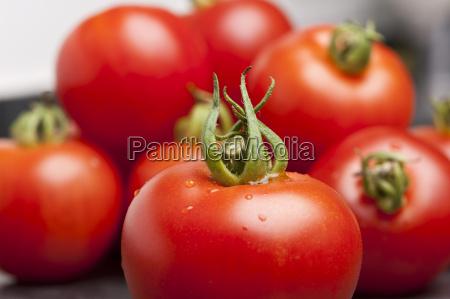 tomatoes on a slate platter